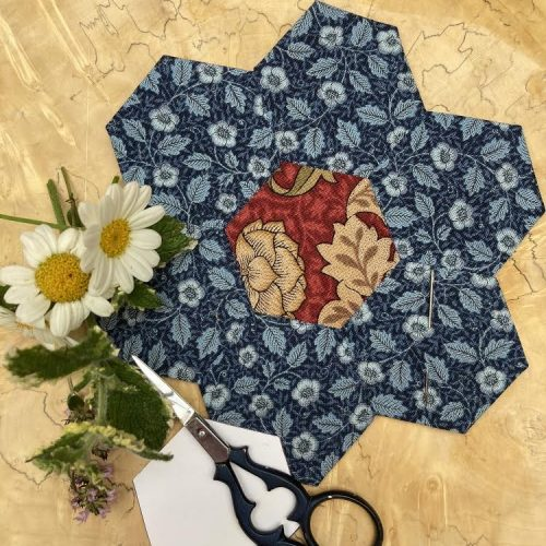 ONLINE COURSE Hand sewing techniques: English paper piecing