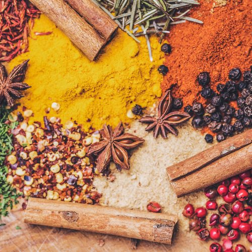 FULLY BOOKED Around the world in a handful of spices